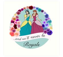 Royals Art Print