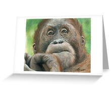 """""""Young wisdom""""  Greeting Card"""