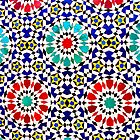 Arabic Tile Detail by deltagphoto