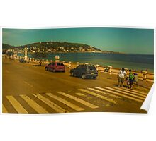 Beautiful Day in Piriapolis Uruguay Poster