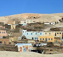 Egyptian village by rhallam
