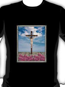 Jesus on the Cross Illustration T-Shirt