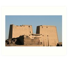 Edfu Temple Art Print