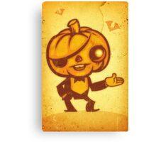 Halloween Boy Canvas Print