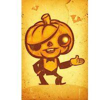 Halloween Boy Photographic Print