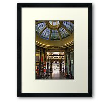 North Bridge Arcade Framed Print