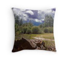 Western Sierra Throw Pillow