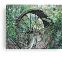 """""""wheel of Time"""" Canvas Print"""