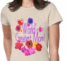 World's Greatest Mom Womens Fitted T-Shirt