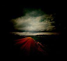 Dark Empty Road by DFLC Prints