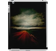 Dark Empty Road iPad Case/Skin