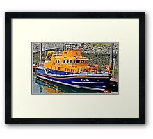 """  The Life Saver"" Framed Print"