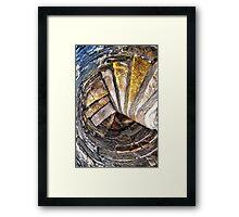 Inchcolm Abbey Steps Framed Print