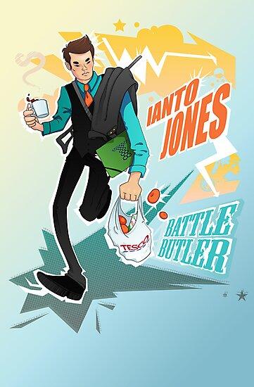 Battle Butler by extrafancyganza
