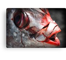 Fish is Murder Canvas Print