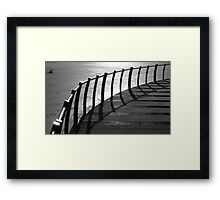 Floating Bridge 4 Framed Print