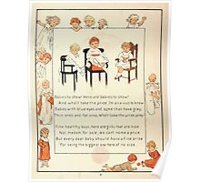 The Glad Year Round for Boys and Girls by Almira George Plympton and Kate Greenaway 1882 0016 Babies to Show Poster