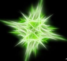 Green Star 1 by Christopher Johnson