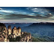 Three Sisters - Blue Mountains NSW Photographic Print
