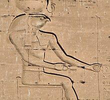 Horus god hieroglyph 2 by rhallam