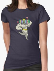 Mister King of the Cosmos Womens Fitted T-Shirt