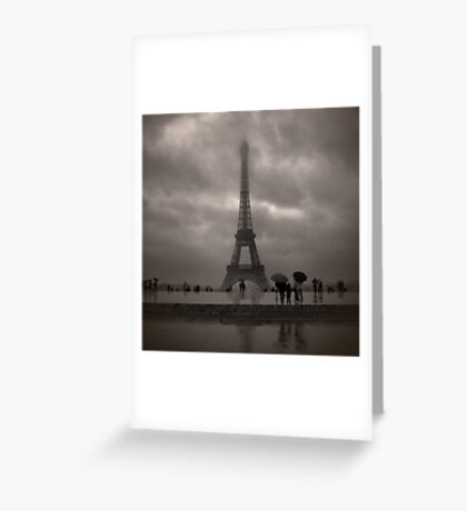 Damien's Paris Holiday Greeting Card