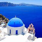Santorini's Magnificent View by DimitriS-Gr