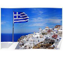 Oia,Santorini Poster