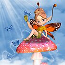 Birthday Card With Moonies Cutie Pie Fairy by Moonlake