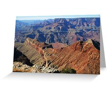CANYON SPINE Greeting Card