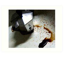 Bialetti Spill Art Print