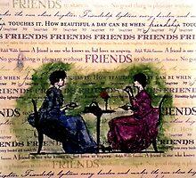 Friends over tea by tmwilson