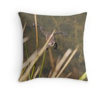 just taking a breather Throw Pillow