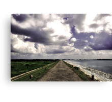 The uncharted path Canvas Print
