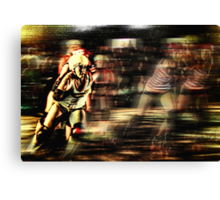 Roller Derby Girls II Canvas Print
