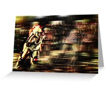 Roller Derby Girls II Greeting Card