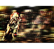 Roller Derby Girls II Photographic Print