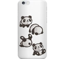 Rolling panda iPhone Case/Skin