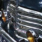 Vintage car chrome glamour by patjila