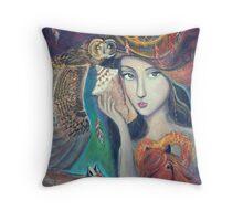 Lola - the Dreamweaver Throw Pillow