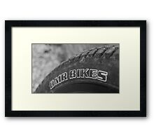 Bike wheel  Framed Print