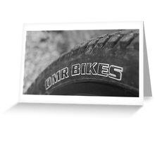 Bike wheel  Greeting Card