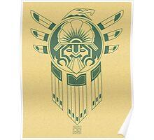Inca Bird Tattoo Poster