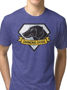 Diamond Dogs (MGSV) Tri-blend T-Shirt