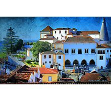 Palácio da Vila . Sintra Photographic Print