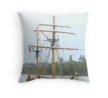 """Hawaiian Chieftain"" Throw Pillow"