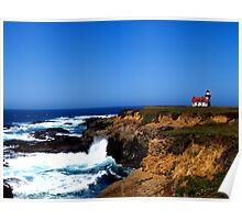 Point Cabrillo Lighthouse #4 Poster