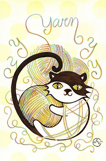 Playful Kitty by sandygrafik