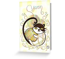 Playful Kitty Greeting Card