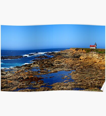 Point Cabrillo Lighthouse, Mendocino Poster